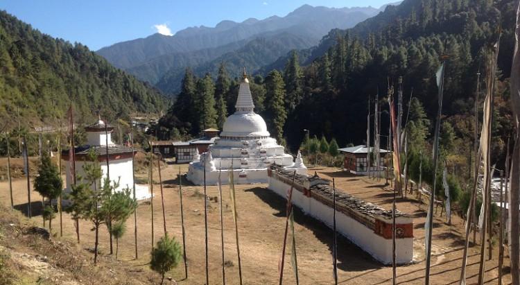 Bhutan-Stupa-Chendepji-Trongsa-Bhutan