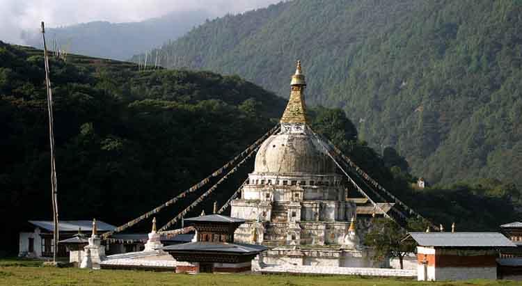 Chorten-Kora-in-Trashiyangtse-Eastern-Bhutan