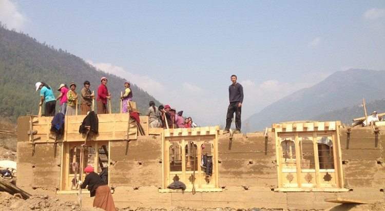 Construction-House-Bhutan