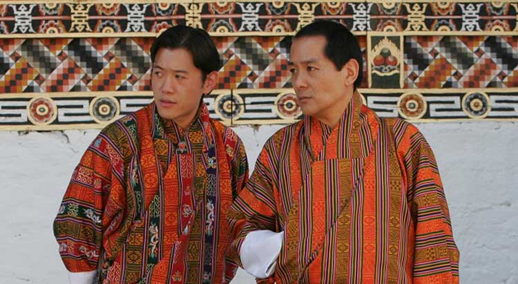Fourth and Fifth King of Bhutan