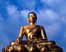 Giant buddha in Bhutan