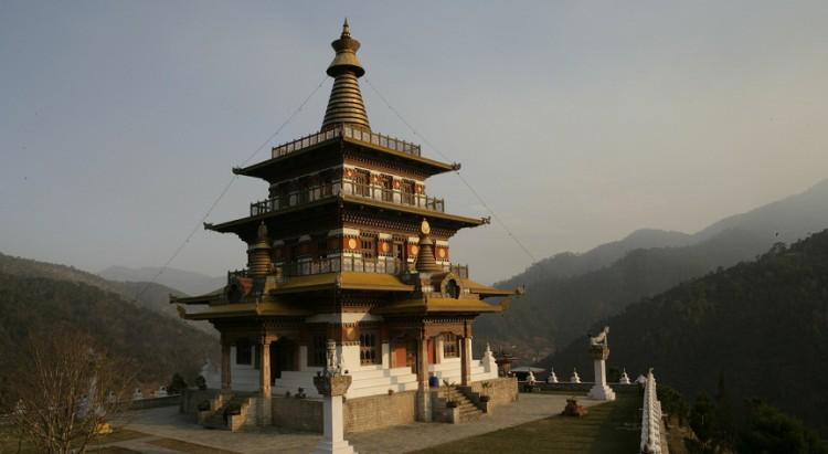 Khamsum-yuellay-Temple-Punakha-Bhutan