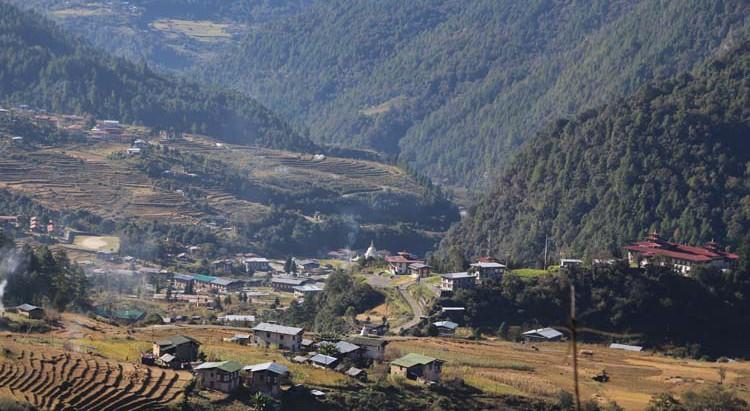 Tashi Yangtse town