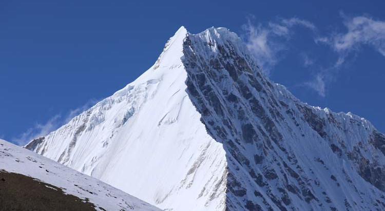 East  face of JIchu drakey