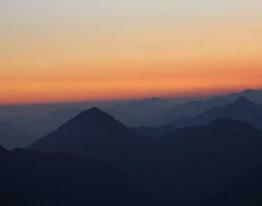 Sun set in Yongphula