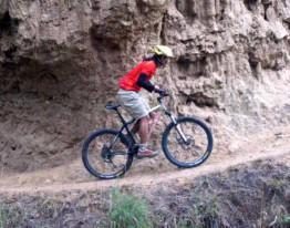 Adventure bike riding in Bhutan