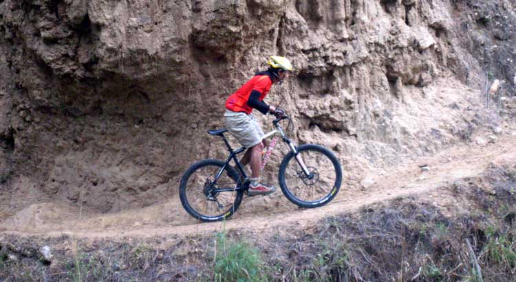 Adventure bike riding in Bhutan