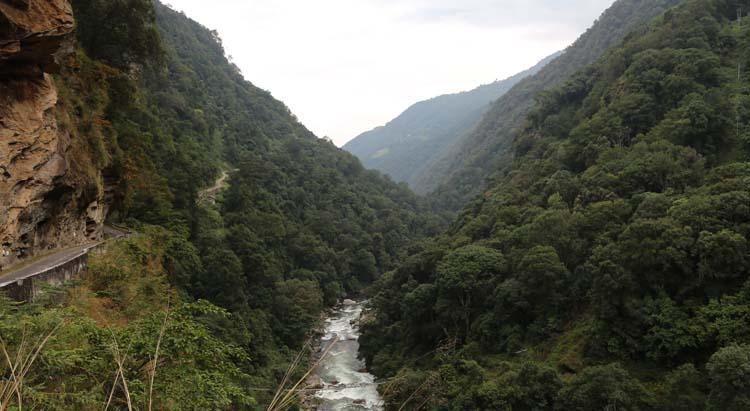 Tashi Yangtse road